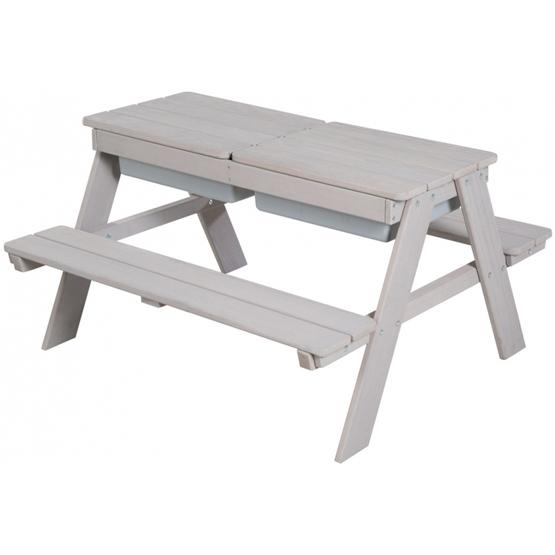 Roba - Picknick Och Lekbord Outdoor Junior 89 Cm Wood