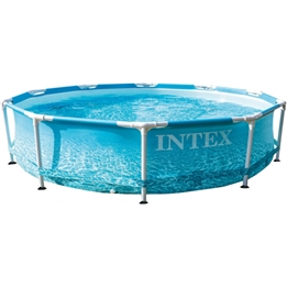Intex - Above Ground Swimming Pool With Pump H 28208Np Beachside 305 X 76 Cm