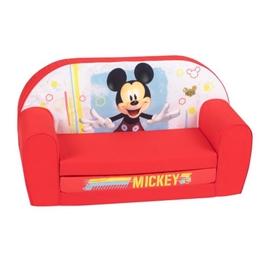 Disney - Soffa Ihopfällbar Mickey 42 X 77 Cm Röd