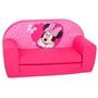 Disney - Soffa Ihopfällbar Minnie 42 X 77 Cm Polycotton Rosa