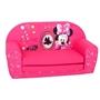 Disney - Soffa Ihopfällbar Minnie Fashion 42 X 77 Cm Cotton Rosa