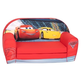 Disney - Soffa Ihopfällbar Cars 42 X 77 Cm Rosa