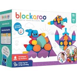 Blockaroo - Playset Builders Box Foam Blocks Junior Rubber