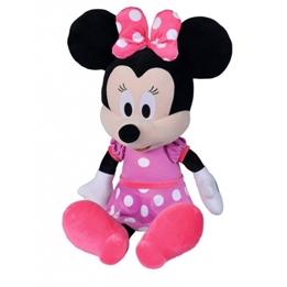 Nicotoy - Mjukisdjur Disney Minnie Mouse 65 Cm Rosa/Svart