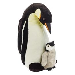 National Geographic - Gosedjur Pingvin 70 Cm Vit
