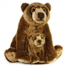Lelly - Teddy Bear Grizzly Junior 31 Cm Plush Brun