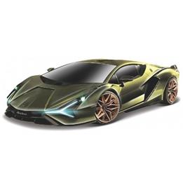 Bburago - Sports Car Lamborghini Sian Fkp Grön 1:18