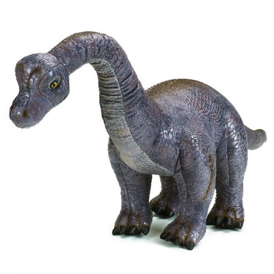 Lelly - Stuffed Animal Argentinosaurus Junior 80 X 40 Cm Plush Grå