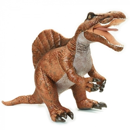Lelly - Gosedjur Velociraptor 77 X 37 Cm Orange
