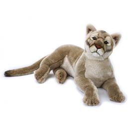 Lelly - Gosedjur Snöleopard 65 Cm Vit/Svart