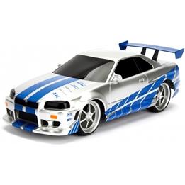 Jada - Radiostyrd Bil Fast & Furious Nissan Skyline Gtr