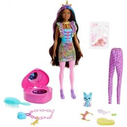 Barbie - Surprise Doll Color Reveal Girls Rosa 15-Piece