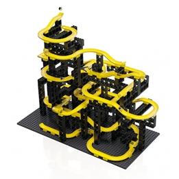 Hubelino - Kulbana Construction Set Svart/Gul 214 Delar