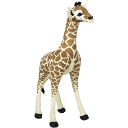 Melissa & Doug - Gosedjur Giraff 85 Cm Beige/Brun