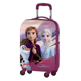 Disney - Resväska - Frozen 35 Liter Abs Lila/Blå