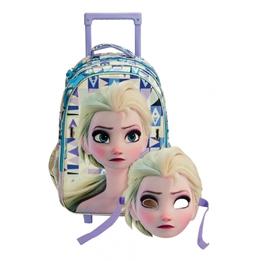 Frozen - Resväska - Ryggsäck Och Mask 2 Delar