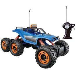 Maisto - Radiostyrd Bil Monstertruck Rock Crawler Blå