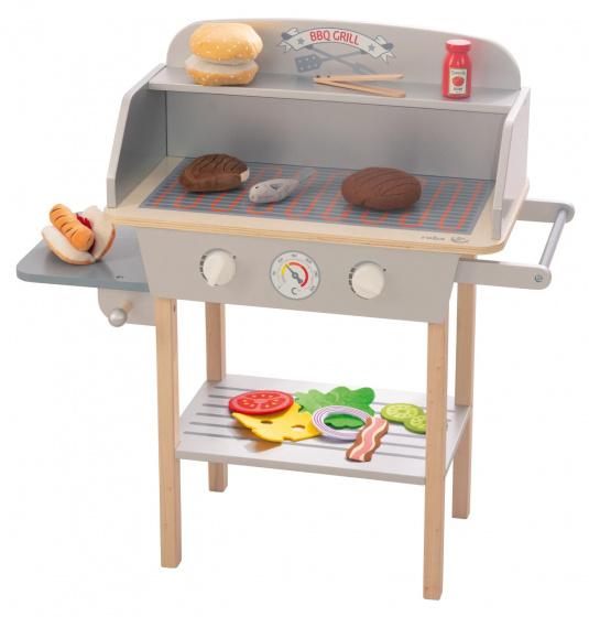 Roba - Toybarbecue Junior 71 X 70,5 Cm Wood 16-Piece