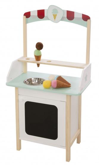 Roba - Icecream Stall Junior 52 X 3 X 13 Cm Wood/Polyester 10-Parts