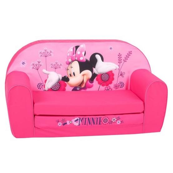 Disney - Children'S Bench Minnie Mouse 77 X 90 Cm Foam Rosa