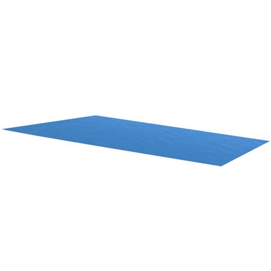 Rektangulärt Poolskydd - Blått