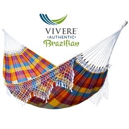 Vivere - Authentic Brazilian - Hängmatta Dubbel - Carnival