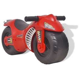 Gåmotorcykel Plast Röd