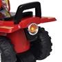 Fyrhjuling För Barn Med Ljud Och Ljus Röd