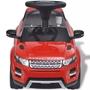 Åkbil För Barn Land Rover 348 Med Musik Röd