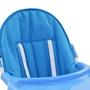 Barnstol Blå Och Vit