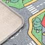 Lekmatta Öglad Lugg 133X190 Cm Stadsväg