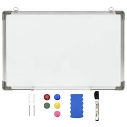 Magnetisk Whiteboard Vit 50X35 Cm Stål