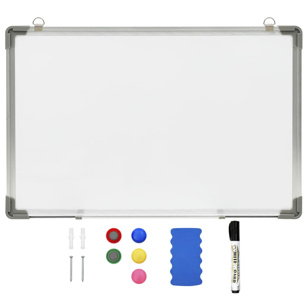 VidaXl Magnetisk Whiteboard Vit 60X40 Cm Stål