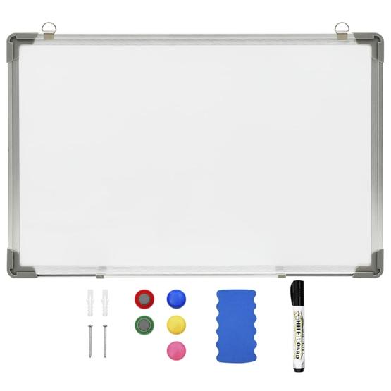 Magnetisk Whiteboard Vit 60X40 Cm Stål