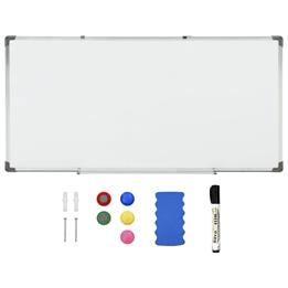 Magnetisk Whiteboard Vit 120X60 Cm Stål