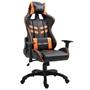 Gamingstol Orange/Svart Konstläder