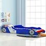 Barnsäng Racerbil Power 90X200 Cm Blå