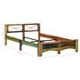 Sängram Massivt Återvunnet Trä 140X200 Cm