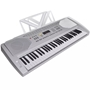 Elektroniskt Keyboard, 61 Tangenter, Inkl. Justerbart Stativ Och Pall