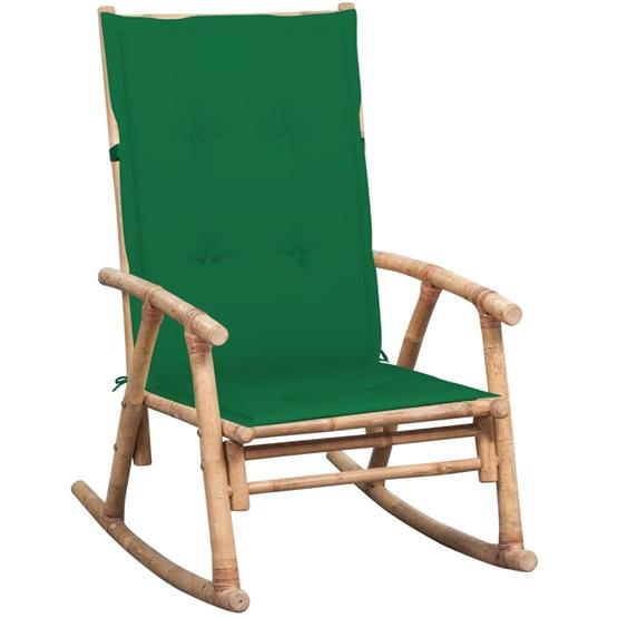 Gungstol Med Dyna Bambu - Grön