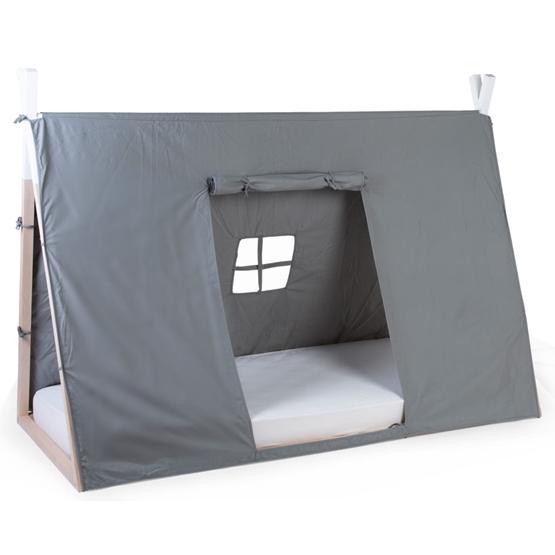 Childhome Sängöverdrag Tipi 90X200 Cm Grå