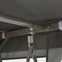 Hammock Med Tak Antracit 220X160X240 Cm Stål