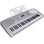 Elektrisk Keyboard Med Notställ Och 61 Tangenter