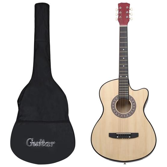 """Akustisk Gitarr 12 Delar Med 6 Strängar Western 38"""""""