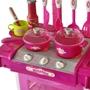 Leksakskök För Barn Med Ljus- Och Ljudeffekter Rosa
