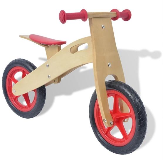 Balanscykel Trä Röd