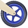 Balanscykel I Trä Blå