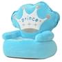 Barnstol I Plysch Prins Blå
