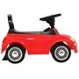 Åkbil Fiat 500 Röd