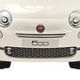 Åkbil Fiat 500 Vit